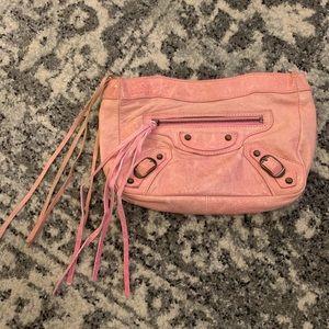 Balenciaga Pink Pouch
